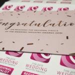 The Wedding Industry Awards 2019 – Regional Finalist